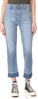 Joe's Jeans Jane High Rise Straight Crop Jeans