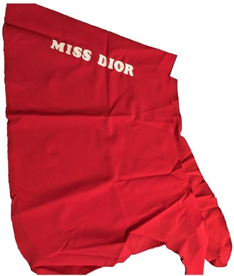 Christian Dior Red Polyester Skirts