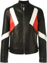 Neil Barrett banded collar jacket