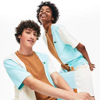 Lacoste x GOLF le FLEUR Block-Striped T-shirt