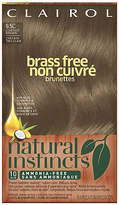 Clairol Natural Instincts Brass Free Brunettes Non-Permanent Haircolor Lightest Brown 6.5C