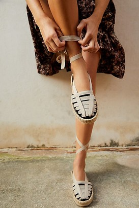 Free People Fp Collection Cece Wrap Espadrilles by FP Collection at