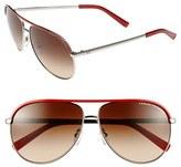 Armani Exchange 61mm Aviator Sunglasses
