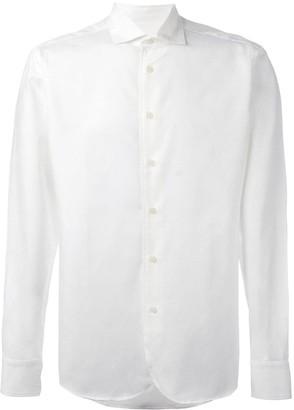 Al Duca D'Aosta 1902 textured shirt
