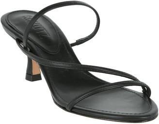 Schutz Evenise Low-Heel Strappy Sandals