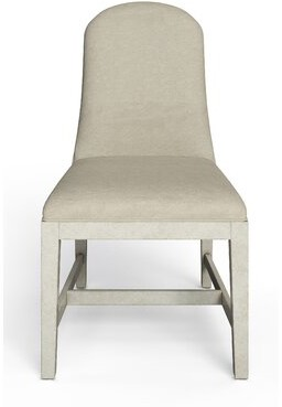 Stanley Furniture Hillside Upholstered Dining Chair Leg Color: Feather