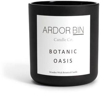 Oasis Ardor Bin Candle Co Botanic 11 Oz. Scented Soy Candle