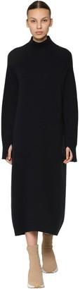 Max Mara 'S Long Wool & Cashmere Knit Dress