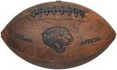 Wilson Jacksonville Jaguars Throwback Youth-Sized Football