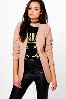 Boohoo Nancy Long Line Blazer