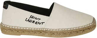 Saint Laurent Logo Printed Espadrillas