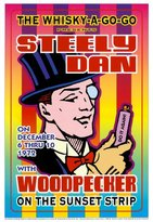Loren Poster Revolution Steely Dan at the Whiskey A-Go-Go Art Poster Print by Dennis Loren, 14x20
