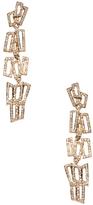 Maiyet 18K Yellow Gold & 1.01 Total Ct. Diamond Metropolis Long Drop Earrings