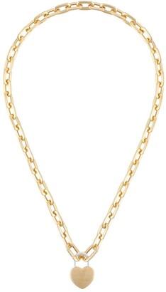 Ambush Heart Padlock Chain Necklace