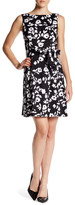 Anne Klein Flower Print Dress