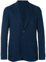 Z Zegna chest pocket blazer - men - Linen/Flax/Cupro - 48