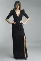 Basix II Deep V-Neck Sheath Dress D5301L
