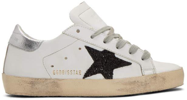 Golden Goose SSENSE Exclusive White Superstar Sneakers