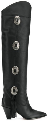 Aquazzura Go West knee-high boots