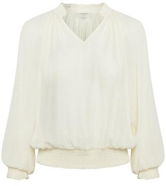 Cream Alice Blouse - Black / 36