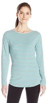 Hanes Women's Long Sleeve Crew Neck Tee