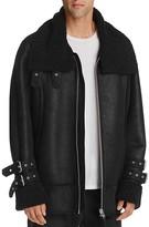 Public School Wyld Shearling Biker Jacket
