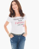 Chico's How Fabulous Tee