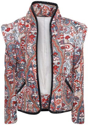 Isabel Marant Janissa Printed Cotton Jacket