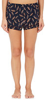 Araks Women's Tia Leaf-Print Silk Pajama Shorts