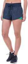 Mondetta Denim Combo Running Shorts (For Women)
