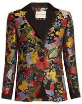 Mary Katrantzou Chrest psychedelic-jacquard blazer