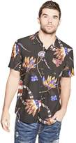 GUESS Men's Bead Print Shirt