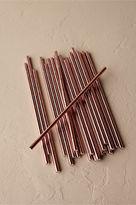 BHLDN Rose Gold Straws