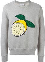 Ami Alexandre Mattiussi lemon patch sweatshirt