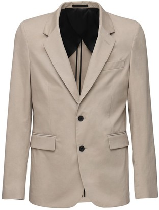 The Row Slater Cotton & Cashmere Blazer