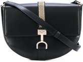 Lanvin Lien shoulder bag - women - Cotton/Calf Leather/Brass - One Size