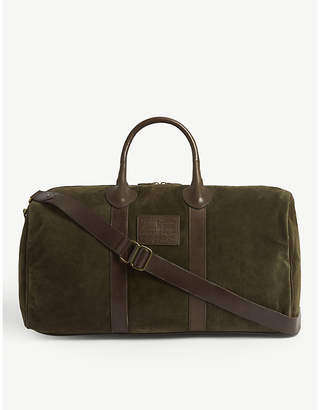Polo Ralph Lauren Suede leather duffle bag