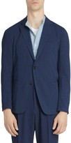 Officine Generale Lightest Micro-Check Blazer Jacket