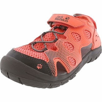 Jack Wolfskin Kid's TITICACA VC LOW kid's mesh sandals with toe protection and velcro closure Sandal