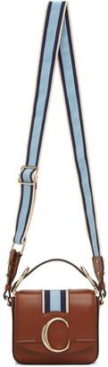 Chloé Brown Webbing Mini C Bag