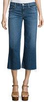 Hudson Sammi Flare-Leg Cropped Jeans, Stingray