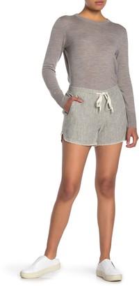 Caslon Linen Blend Drawstring Shorts (Regular & Petite)