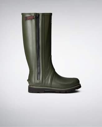 Hunter Men's Commando Full Zip Rain Boots