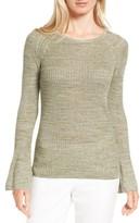 Nordstrom Women's Bell Sleeve Linen Blend Sweater