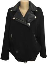 Muu Baa Muubaa Black Wool Jacket for Women