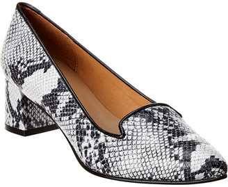 French Sole Josephine Leather Pump