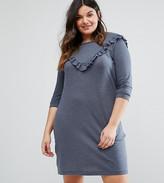 Junarose Ruffle Detail Sweat Dress