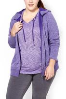 Penningtons Essentials - Plus-Size Basic Zip Up Hoodie
