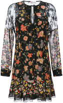RED Valentino floral embroidered dress - women - Silk/Polyamide - 40
