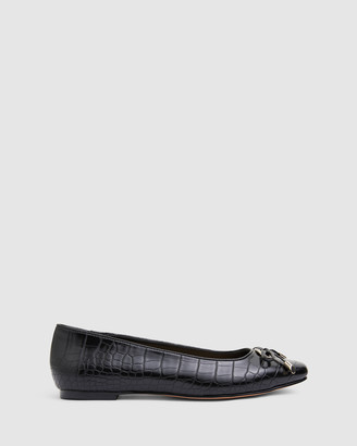 Easy Steps - Women's Black Ballet Flats - Tabbatha - Size One Size, 7 at The Iconic
